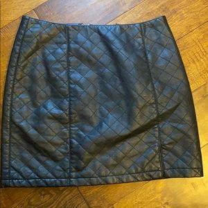 Forever 21 women's leather skirt